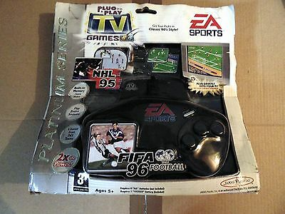 Jakks Pacific Fifa 96 And Nhl 95 Ea Sports Plug N Play Video Game New & Sealed
