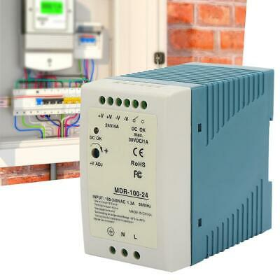 MDR-40-5 Industrial DIN Rail Switching Power Supply AC to DC Output 5V 6A 30W US
