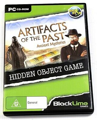 Artifacts Of The Past Ancient Mysteries Game PC Hidden Object Mystery Puzzle