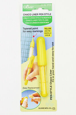 Clover Chaco Pen Style Liner - Yellow