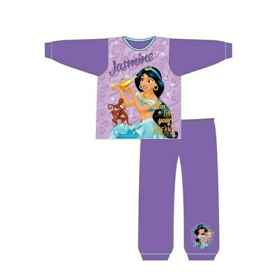 Girls Aladdin Pyjamas Kids Nightwear Princess Jasmine 18 months to 5 Years PJs
