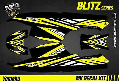 Kit Déco pour / Decal Kit for Jet SkiYamaha Super Jet - Blitz Yellow