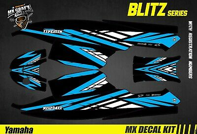 Kit Déco pour / Decal Kit for Jet SkiYamaha Super Jet - Blitz Blue