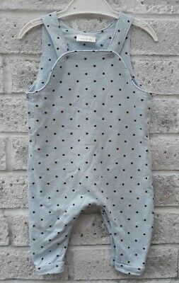 ☆Next|Baby Boy|Star Dungarees|Baby Blue & Navy|3-6 Months☆