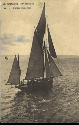 CPA - Dundee sous voiles