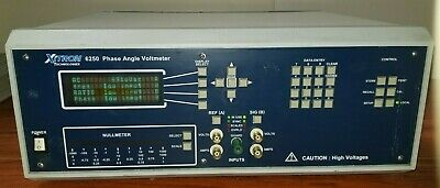 Xitron 6250 Phase Angle Voltmeter