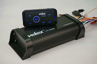 Water Resistant Bluetooth Marine 4 Channel Class A/B Amplifier Media Stereo on