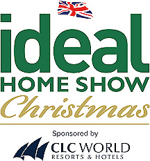 2x IDEAL HOME SHOW TICKETS CHRISTMAS SAT 23RD NOV LONDON (4 CHILD INCLUDED)