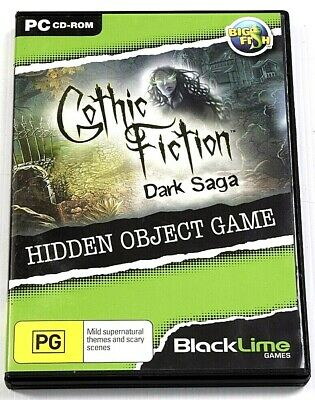 Gothic Fiction Dark Saga Game PC Hidden Object Mystery Puzzle Adventure