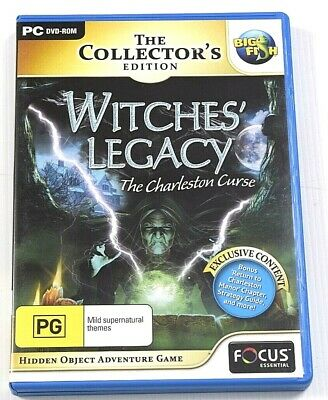 Witches Legacy The Charleston Legacy Game PC Hidden Object Mystery Puzzle