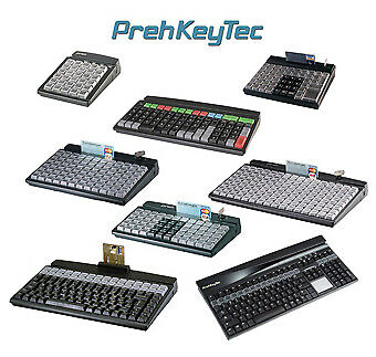Prehkeytec, Mci128 Programmable Keyboard (Compact, 128-Key, Row & Column, Usb Ca