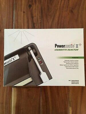 Brand New Powermatic II 2 Electric Cigarette Injector Rolling Machine USA SELLER