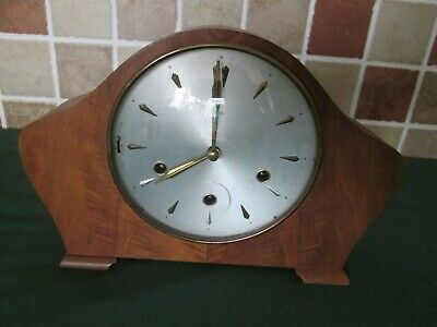 vintage Smith's mantel clock
