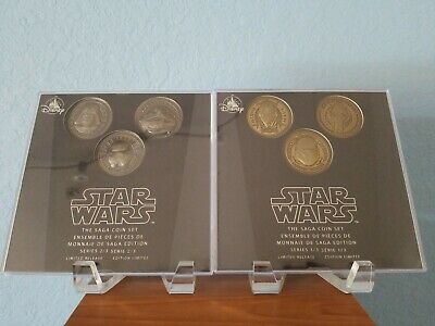 Disney Store Star Wars triple force friday 2019 saga coin collections darth maul