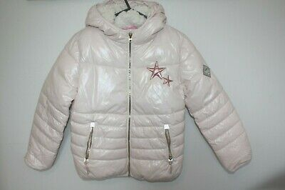 Next Girls Pink Padded Jacket / Coat Size 11 years