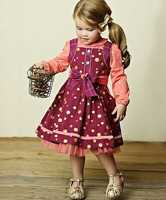Matilda Jane girl outfit Nicoletta dress Friends Forever/Eisley top NWT 6