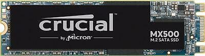 Crucial MX500 500GB 3D NAND SATA M.2 2280SS Internal SSD - Windows 10 Home