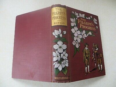 THE PILGRIM'S PROGRESS by John Bunyan - 58 illus by JD Watson (Routledge, 1904?)