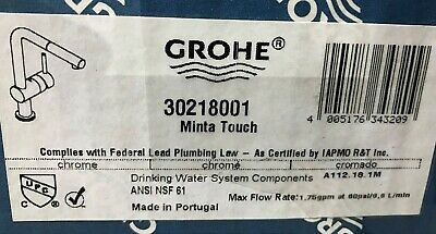 Grohe 30218001 Starlight Chrome Minta