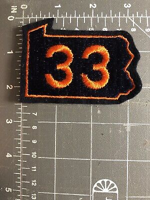 Vintage Pennsylvania PA Route 33 Patch Rte State Highway Hwy Easton Stroudsburg