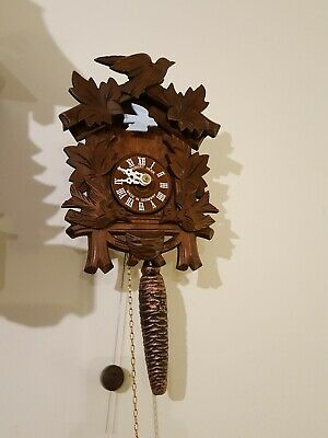 Hubert Herr 'Rocking Bird' Mechanical Cuckoo Clock