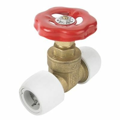 Hep2O BRASS GATE VALVE 22mm X 22mm HX35/22W FOR DOMESTIC HOT & COLD WATER Hep2O