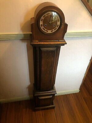 Vintage Granddaughter Clock - British Made - With Key - Chimes