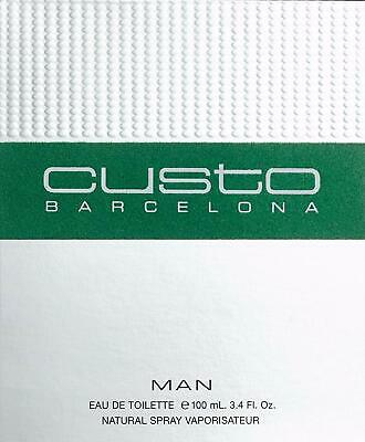 Custo Barcelona Pour Homme Eau Toilette  For Man - 100 Ml - Vaporizador Spray