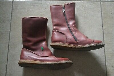 BOTTES KICKERS FEMME FILLE Pointure 37 TBE CUIR