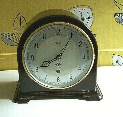 Genuine English Smiths Enfield  Military Desk Clock circa 1952/53
