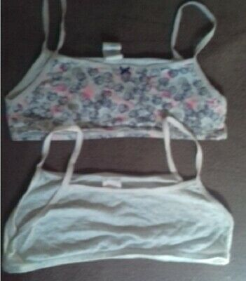 Lot 4 brassières ABSORBA fille taille 14 ans