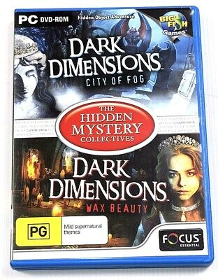 Dark Dimensions 1 & 2 Game PC Hidden Mystery Object Puzzle Adventure Mysteries