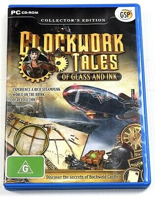 Clockwork Tales Of Glass And Ink Game PC Hidden Mystery Object Puzzle Mysteries