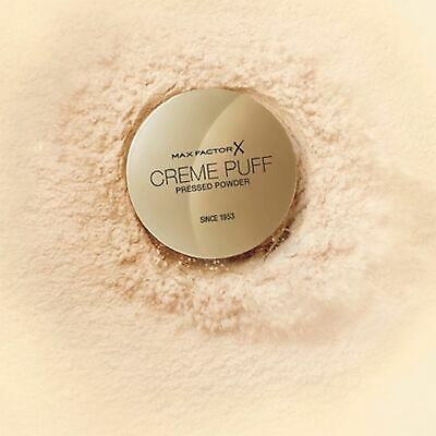 Max Factor Creme Puff 2in1 Face Compact Pressed Powder Foundation 21g 53 shade