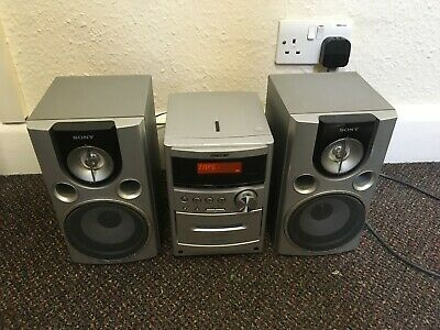 Sony CMT-NEZ50 - Micro Hifi System CD & CASSETTE BOTH WORKING PERFECT 👌