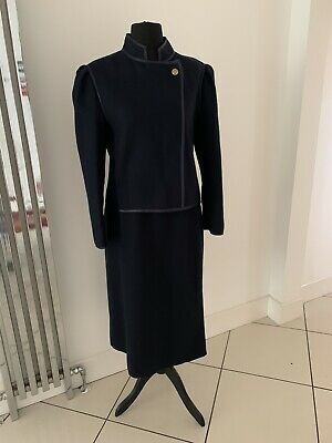 LOUIS FE'RAUD VINTAGE LADIES 2 piece Skirt Suit SIZE 16/18 Suit