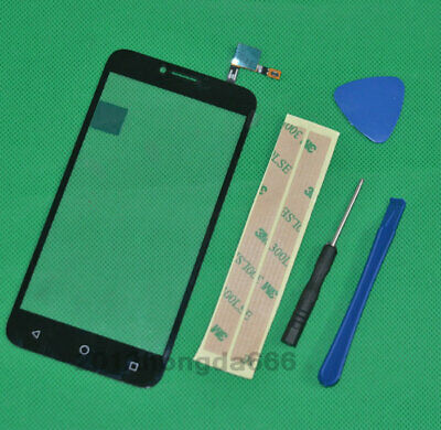 For Alcatel Tetra 5041C Black Touch Screen Digitizer Glass Panel Replacement
