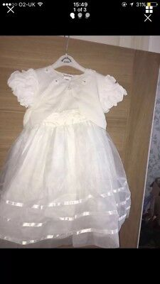 Next Bridesmaids Dress age 3 with sarah Louise items(worn couple of hours)