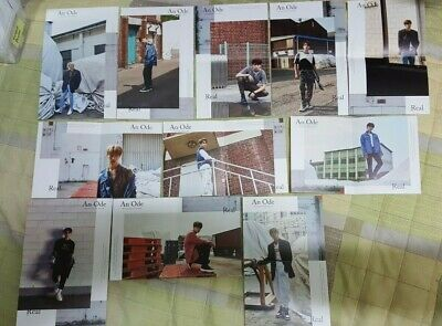 SEVENTEEN 3rd Full Album An Ode REAL Ver. FOLDED POSTER LIMITED! + Freebies