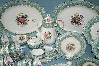 Royal Albert ' Enchantment '  Tea Set And Tableware - English Bone China