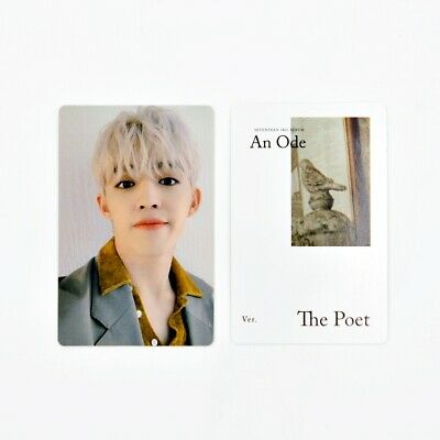 [SEVENTEEN] An Ode 독 : Fear Official Photocard / The Poet Ver. B-1. S.Coups