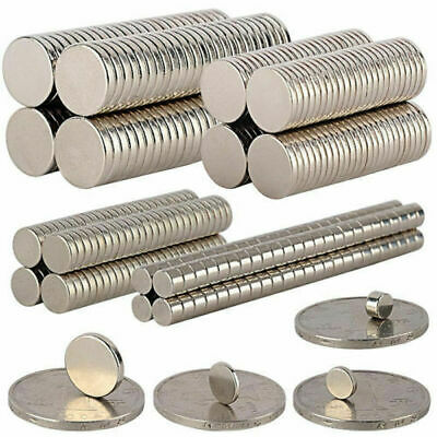 1-100Pcs  Strong Round Disc Magnets Rare-Earth Neodymium Magnet N35/N50 EvcVaQV