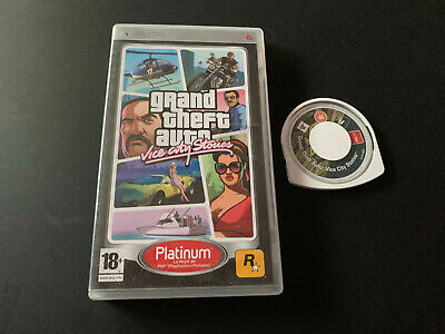 Grand Theft Auto Vice City Stories GTA PSP PAL ESPAÑOL