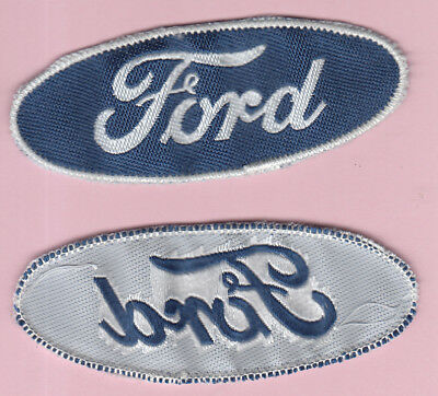écusson badge patch brodé automobile FORD