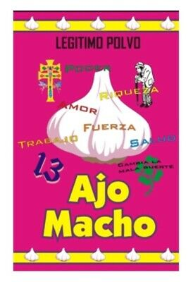 Polvo Esoterico Ajo Macho - Polvo de Ritual - Wicca, Spell, Witchcrafts, Witches