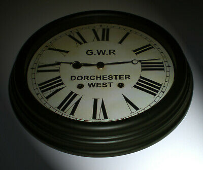Great Western Railway GWR Victorian Style Clock, Dorchester Station
