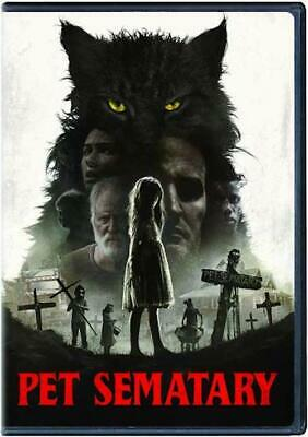 Pet Sematary 2019 DVD New & Sealed Free Shipping Included