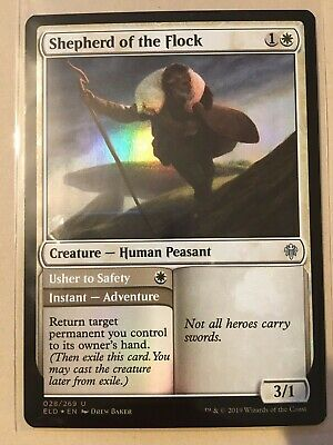 MTG Throne of Eldraine **FOIL** Shepherd of the Flock NM/M Magic the Gathering