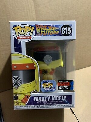 Marty McFly Back To The Future 2019 NYCC Exclusive Funko Pop PREORDER + Protecto