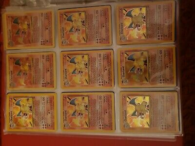 Maasive high end Pokemon Card Collection full set ,Foils Charizard ancient mew